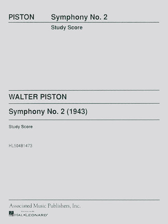 Product Cover for Symphony No2 Study Score