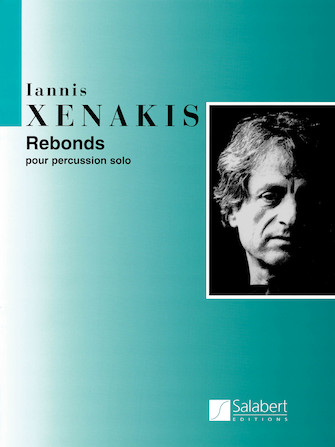 Product Cover for Rebonds Part A and Part B for Percussion (1987-1989)