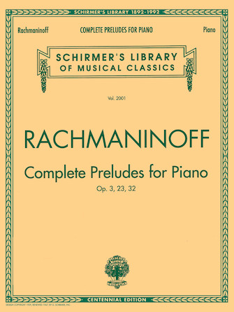 Product Cover for Complete Preludes, Op. 3, 23, 32