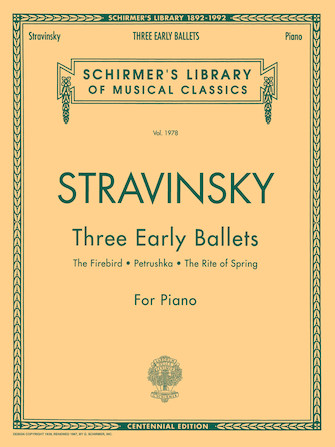 Product Cover for Three Early Ballets (The Firebird, Petrushka, The Rite of Spring)