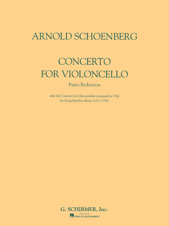 Product Cover for Concerto for Violoncello and Orchestra