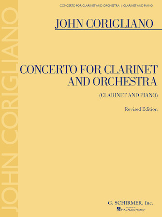 Product Cover for Clarinet Concerto – Revised Edition