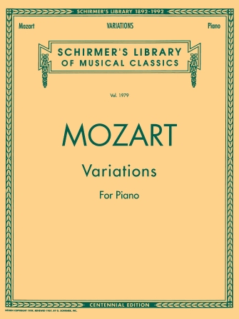 Product Cover for Piano Variations (Complete)