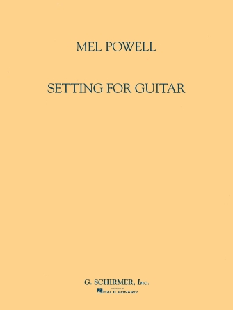 Product Cover for Setting for Guitar