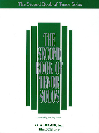 Product Cover for The Second Book of Tenor Solos