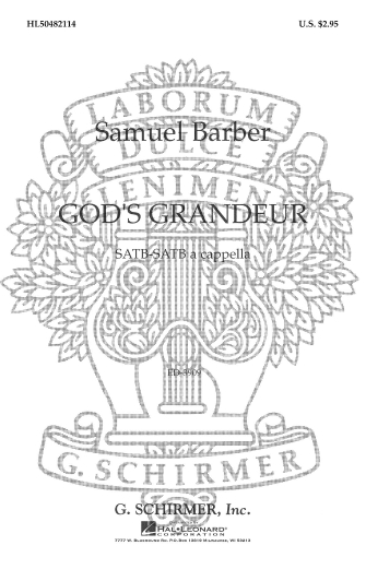 Product Cover for God's Grandeur