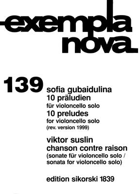 Product Cover for Ten Preludes and Chanson Contre Raison Sonata