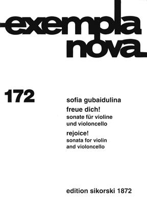 Product Cover for Freue Dich Sonata For Violin & Cello