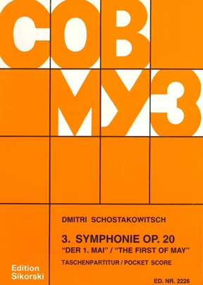 Product Cover for Symphony No. 3, Op. 20