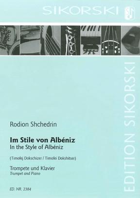 Product Cover for A La Albeniz