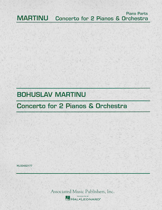 Product Cover for Concerto for Two Pianos
