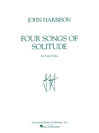 Product Cover for Four Songs of Solitude