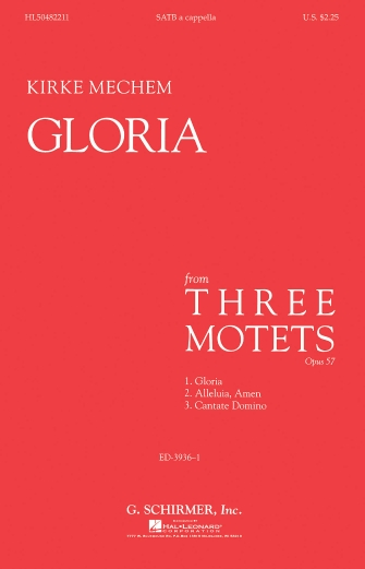 Product Cover for Gloria – A Cappella
