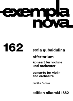 Product Cover for Offertorium/Concerto for Violin and Orchestra