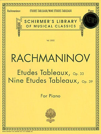 Product Cover for Etudes Tableaux, Op. 33 & 39