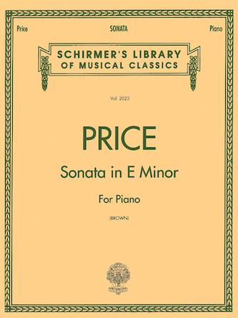 Product Cover for Sonata in E minor