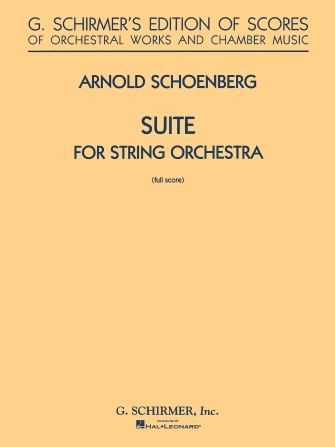 Product Cover for Suite in G for String Orchestra