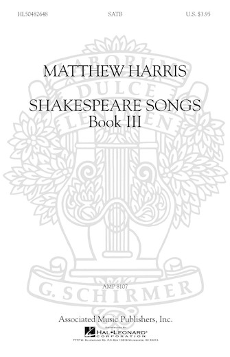 Product Cover for Shakespeare Songs, Book III