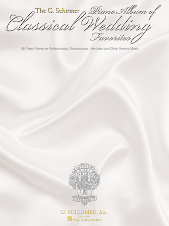 Product Cover for The G. Schirmer Piano Album of Wedding Classics