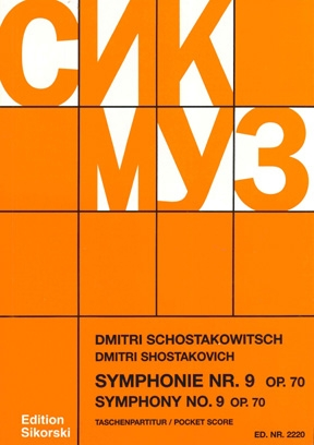 Product Cover for Symphony No. 9, Op. 70