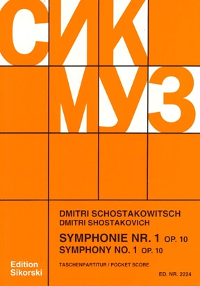 Product Cover for Symphony No. 1, Op. 10