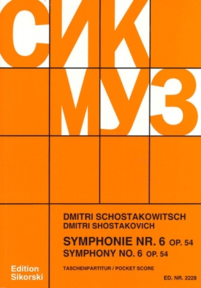 Product Cover for Symphony No. 6, Op. 54