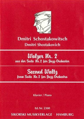 Product Cover for Second Waltz (from Suite No. 2 for Jazz Orchestra)