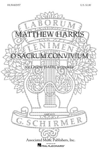 Product Cover for O Sacrum Convivium