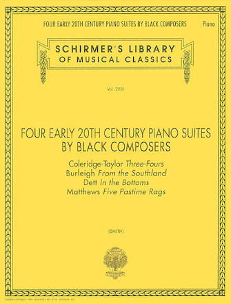 Product Cover for Four Early 20th Century Piano Suites by Black Composers