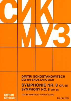Product Cover for Symphony No. 8, Op. 65
