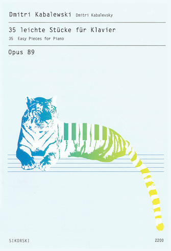 Product Cover for 35 Easy Pieces for Piano, Op. 89