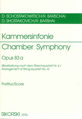 Product Cover for Chamber Symphony (Kammersinfonie), Op. 83a