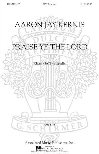 Product Cover for Praise Ye the Lord