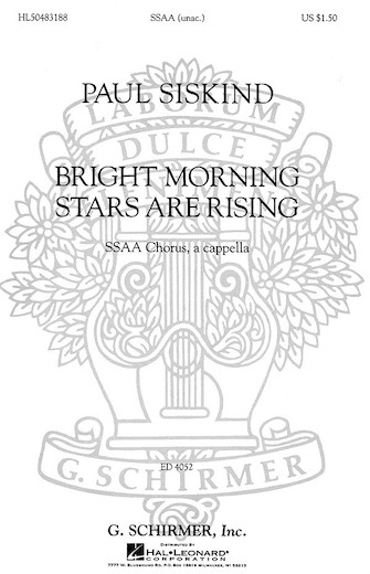 Product Cover for Bright Morning Stars are Rising