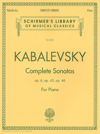 Product Cover for Dmitri Kabalevsky – Complete Sonatas for Piano