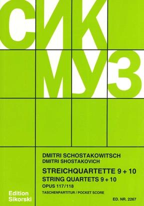 Product Cover for String Quartets, Nos. 9–10