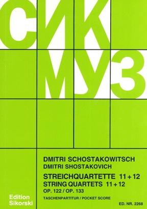 Product Cover for String Quartets, Nos. 11–12