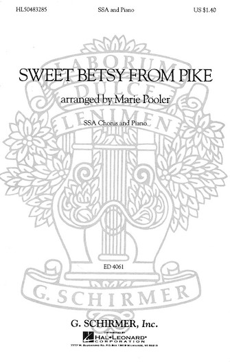Product Cover for Sweet Betsy from Pike