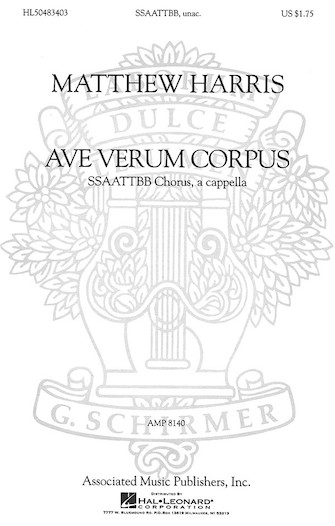 Product Cover for Ave Verum Corpus