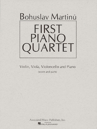 Product Cover for First Piano Quartet