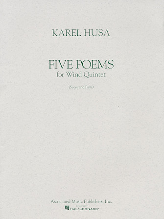 Product Cover for Five Poems for Wind Quintet