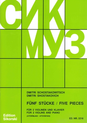 Product Cover for Five Pieces
