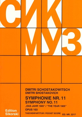 Product Cover for Symphony No. 11, Op. 103