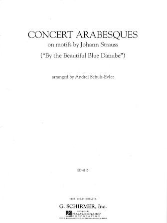 Product Cover for Concert Arabesques