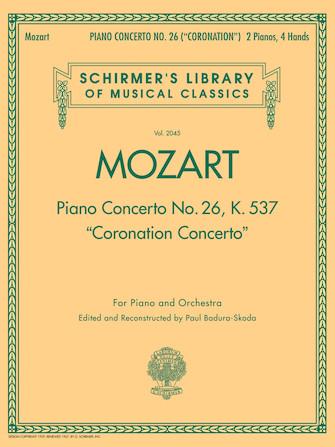 """Piano Concerto No. 26, K. 537 (""""Coronation Concerto"""")"""
