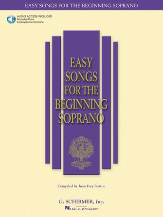 Product Cover for Easy Songs for the Beginning Soprano