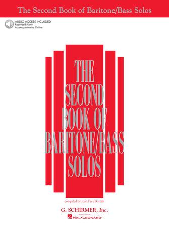 Product Cover for The Second Book of Baritone/Bass Solos