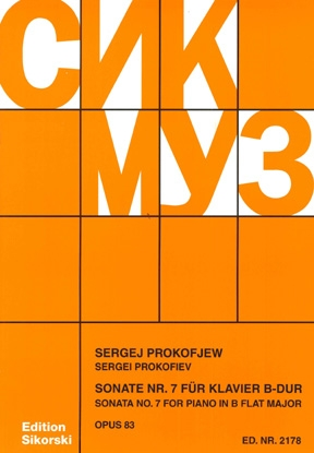 Product Cover for Piano Sonata No. 7, Op. 83