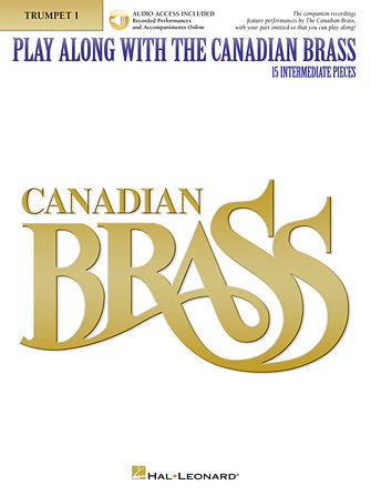 Product Cover for Play Along with The Canadian Brass – Trumpet