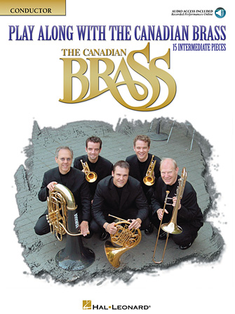 Product Cover for Play Along with The Canadian Brass – Conductor Book